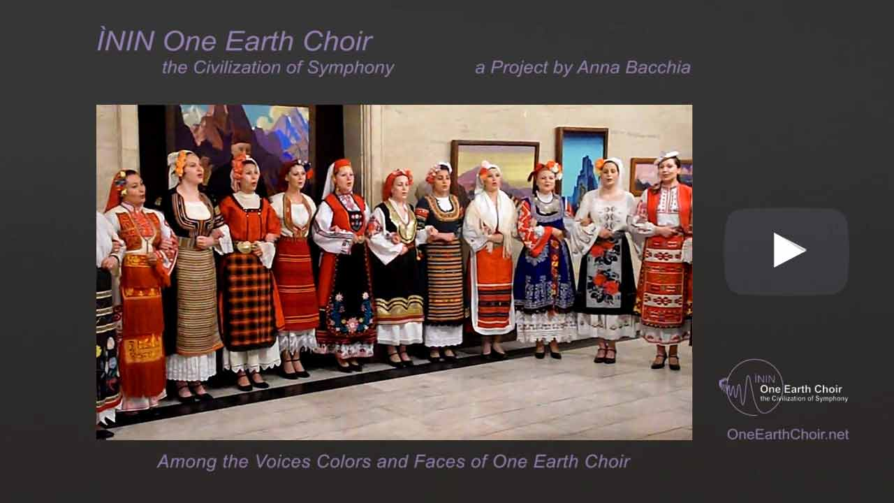 Video: among the Voices of One Earth Choir - 1