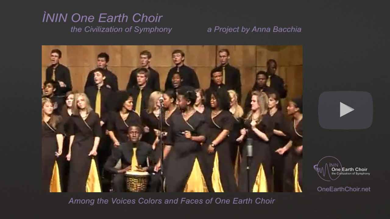 Video: among the Voices of One Earth Choir - 4